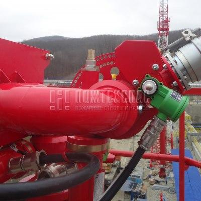 Применение лафетных стволов на нефтяных объектах