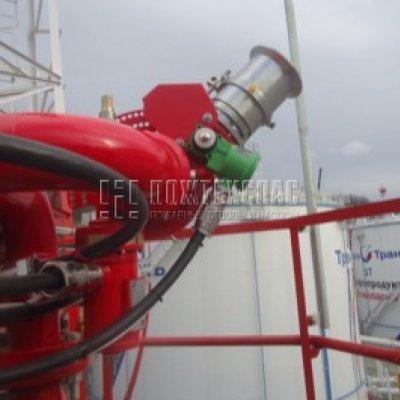 Рекомендации по проектированию роботизированной установки пожаротушения (РУП) для защиты объектов нефтегазовой отрасли