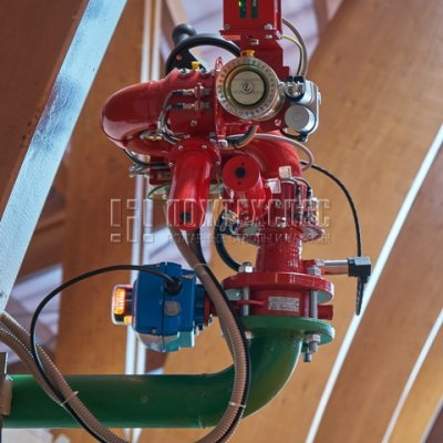 Роботизированная установка пожаротушения