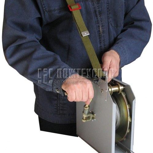 Катушка ГДЗС с направляющим тросом