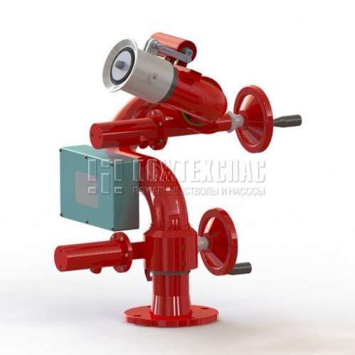 Пожарный робот ПР-ЛСД-С50У