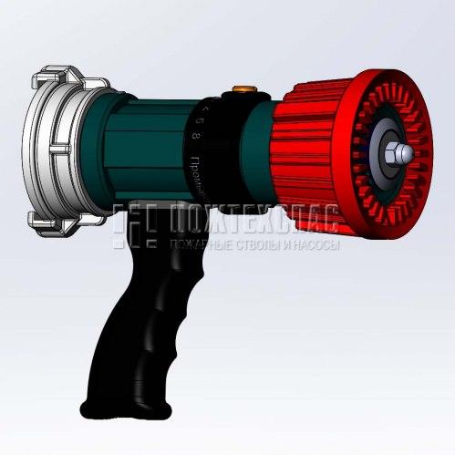 Ручной пожарный ствол СРКУ-8