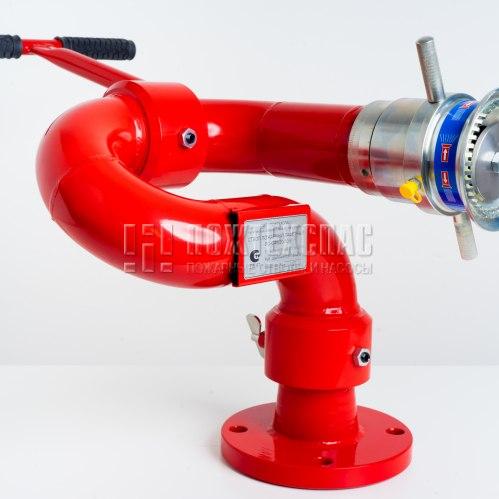 Лафетный пожарный ствол ЛС-С100У