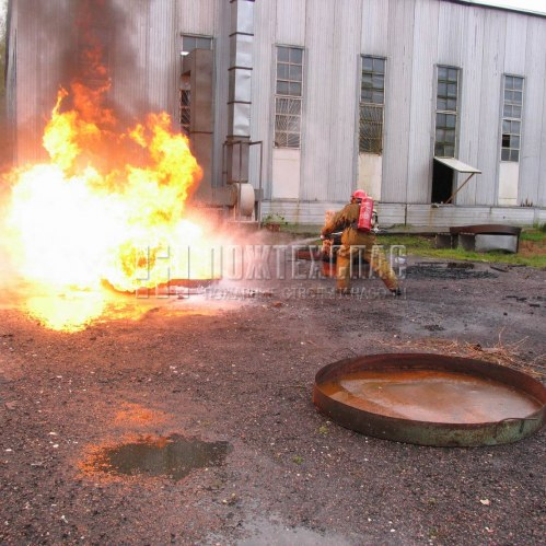 испытания ранцевого устройства пожаротушения ОСА-1