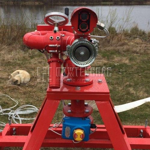 Пожарный робот ПР-ЛСД-С60У