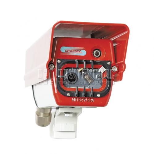 Извещатель пламени ИП 329/330 (модификация с цветной видеокамерой и интерфейсом Ethernet)