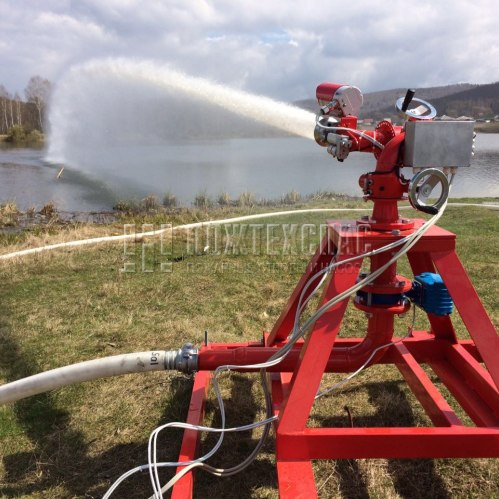 Установка пожаротушения роботизированная УПР