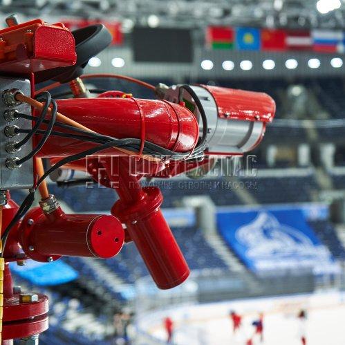 Роботизированное пожаротушение