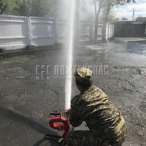 испытание лафетного ствола лс-п40у МЧС