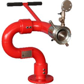 Лафетный пожарный ствол ЛС-С60Узэ