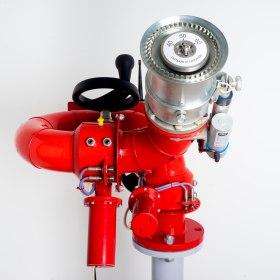 Лафетный пожарный ствол ЛСД-С50У с дистанционным управлением