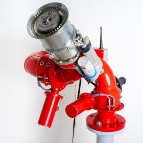 Лафетный пожарный ствол ЛСД-С30У с дистанционным управлением